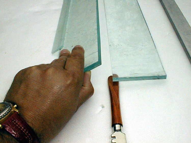 techniques . couper du verre en aquariophilie.